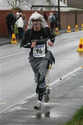 Training runs....